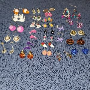 Lot of Little Kids Earrings